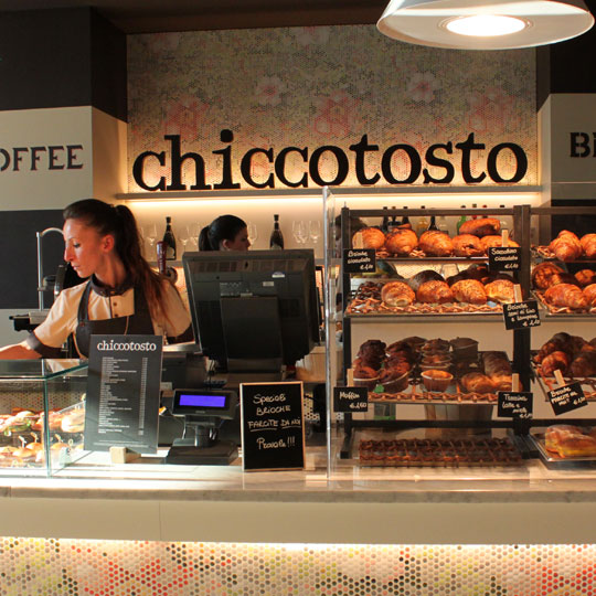 Chiccotosto snack coffee bar